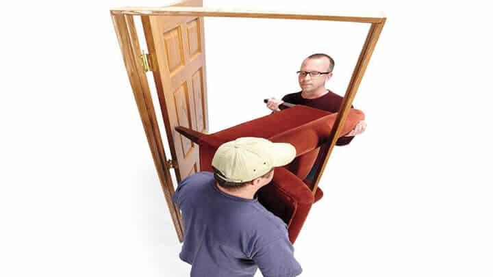 Cách vận chuyển đồ nội thất ghế sofa