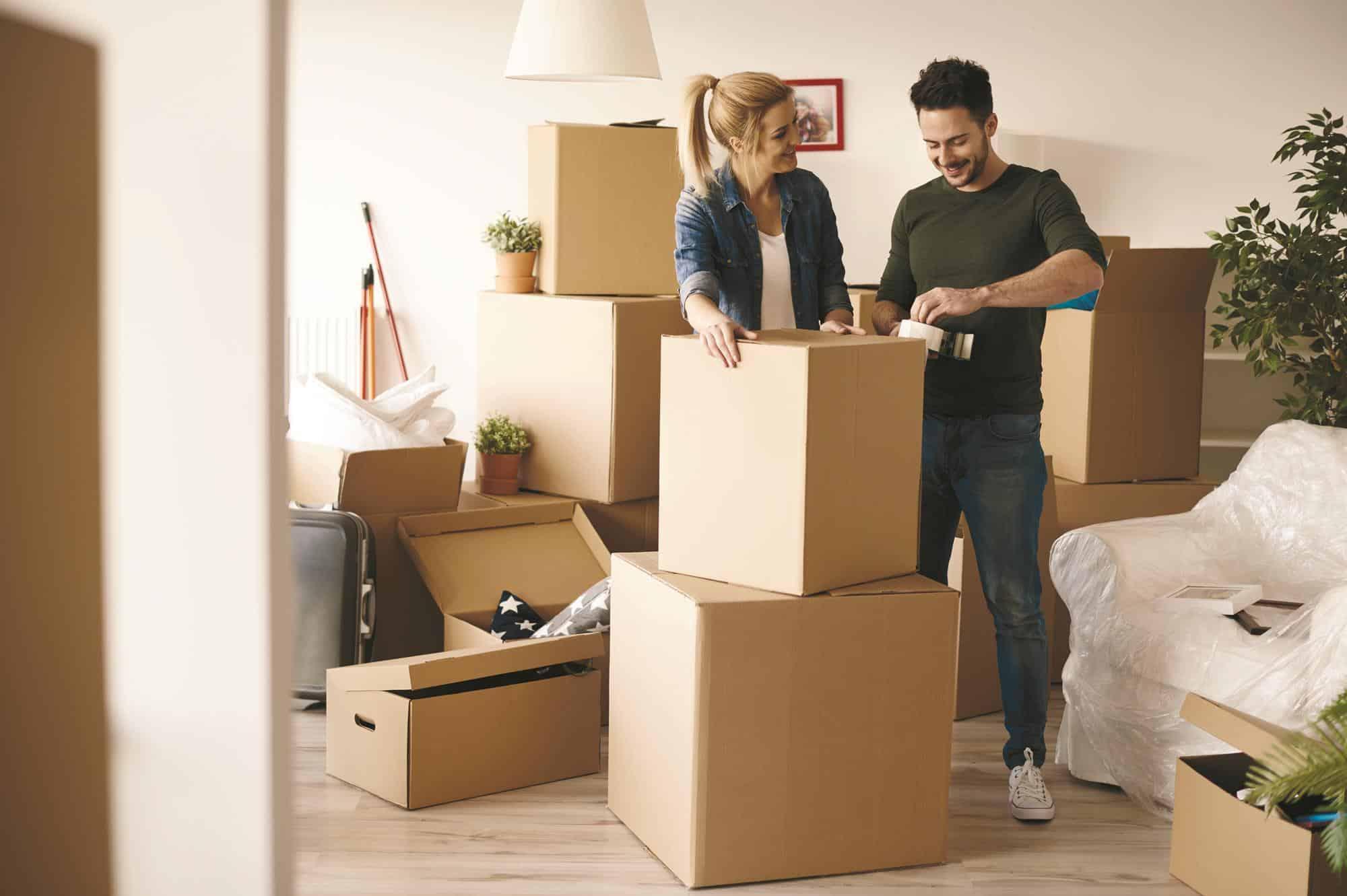 những mẹo dùng thùng carton chuyển nhà hiệu quả