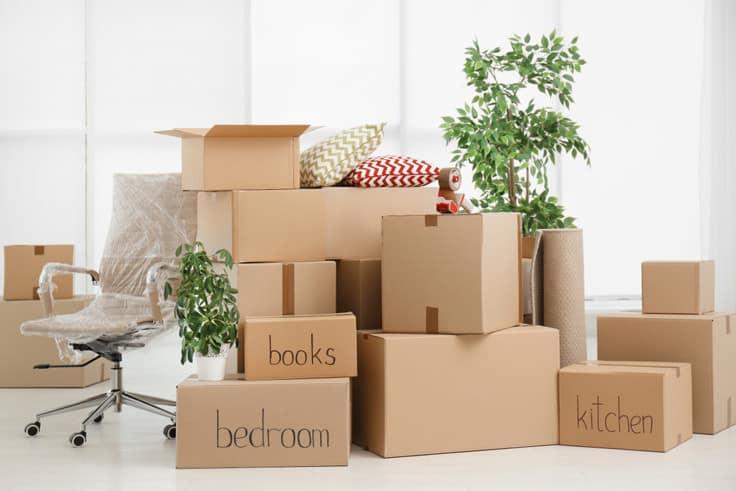 không đóng gói chung đồ đạc