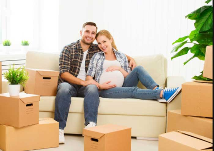 cách chuyển nhà mới khi có thai