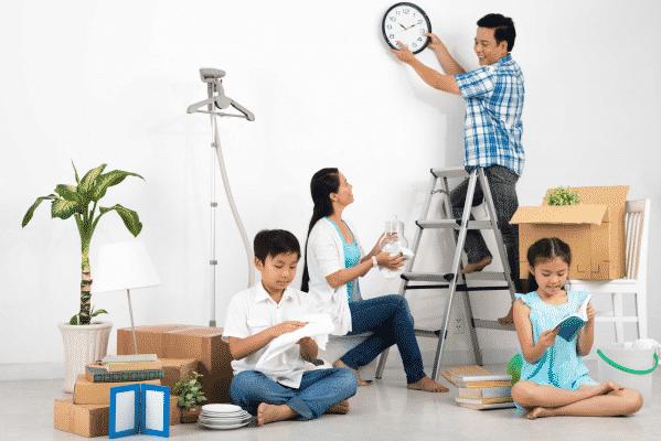 cách dọn nhà nhanh