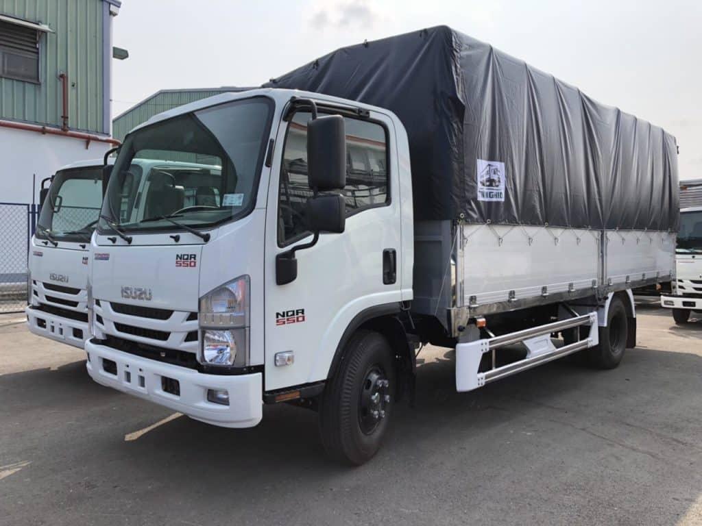 xe tải đa dạng kích thước