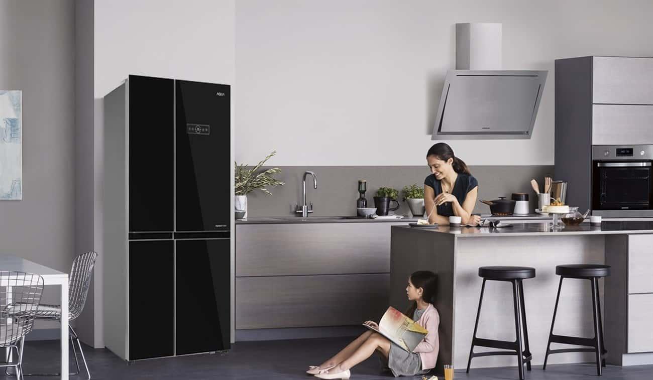 Đặt tủ lạnh vào vị trí mới và tiếp tục sử dụng