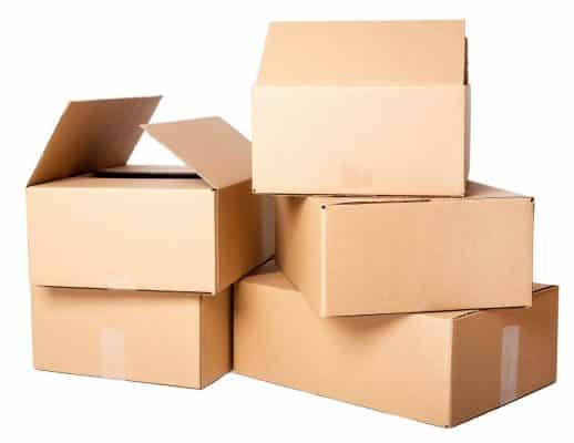 thùng carton giao hàng