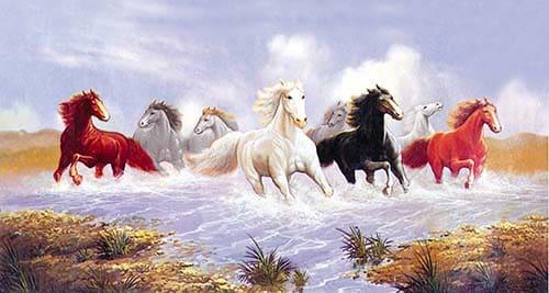 Tranh ngựa phong thủy 3