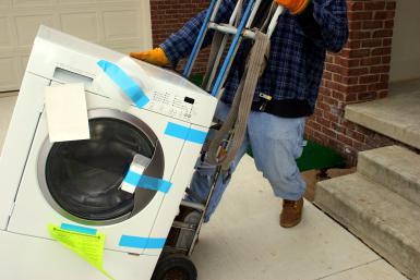 Hướng dẫn cách vận chuyển máy giặt an toàn - Công ty Taxi Tải Nguyên Lợi