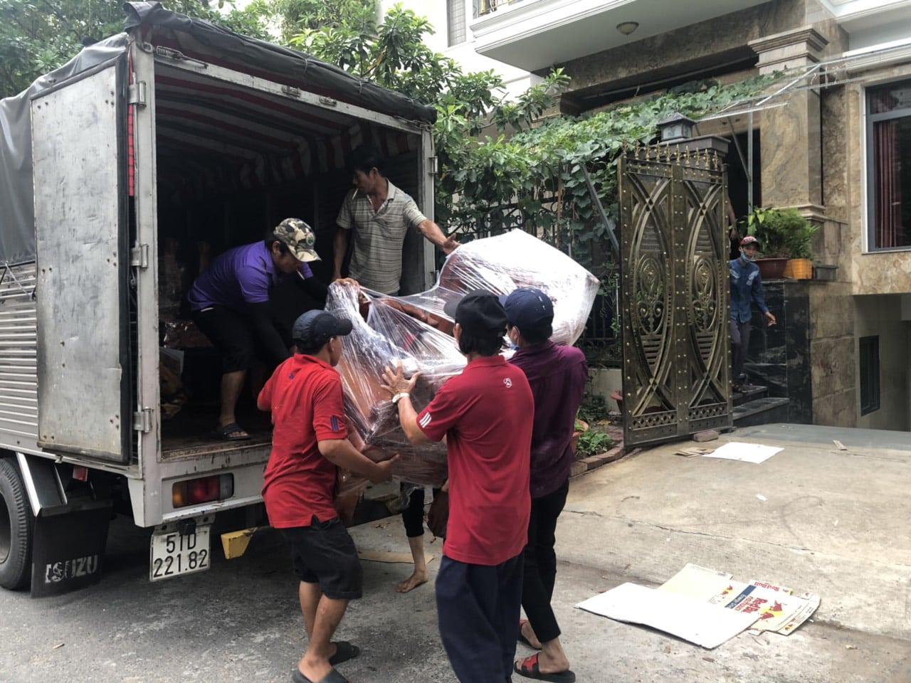 Dịch vụ chuyển phòng trọ giá rẻ Quận Bình Thạnh TPHCM