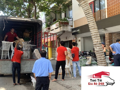 dịch vụ chuyển nhà trọn gói của Taxi Tải Giá Rẻ 24H
