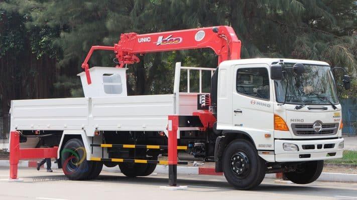 Hệ thống xe cẩu đa dạng nhiều loại khác xe cẩu cho thuê của Công ty Taxi Tải Giá Rẻ 24H