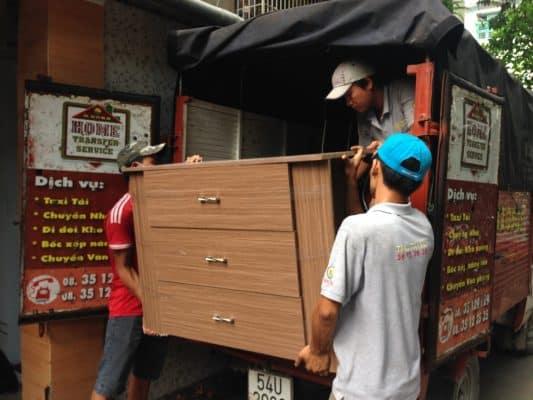 Dịch vụ chuyển nhà trọn gói sinh viên của Taxi tải giá rẻ 24H