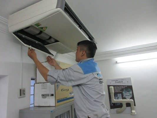 Yêu cầu kỹ thuật khi tháo lắp máy lạnh