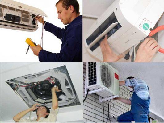 Dịch vụ tháo lắp di dời máy lạnh tphcm