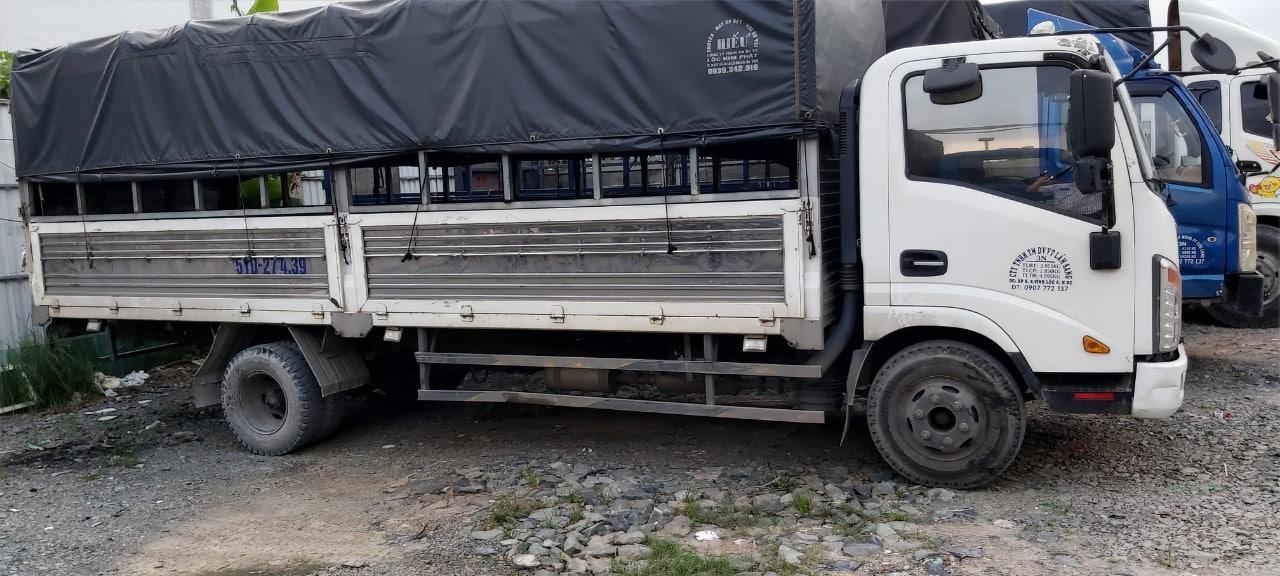 Cho thuê xe tải chở hàng 9 Tấn quận Bình Tân