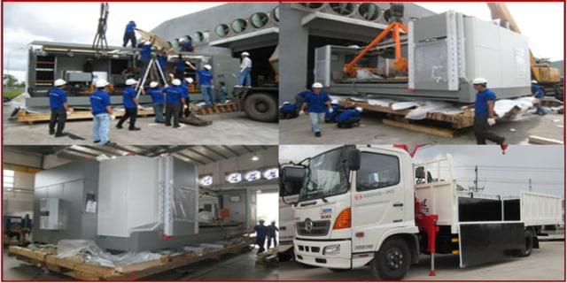 Dịch vụ chuyển kho xưởng Bình Thuận