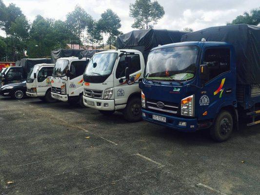 Các loại hình xe tải mà Taxi Tải Giá Rẻ 24H sở hữu