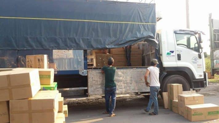 quy trình cho thuê xe tải chở hàng nhanh chóng