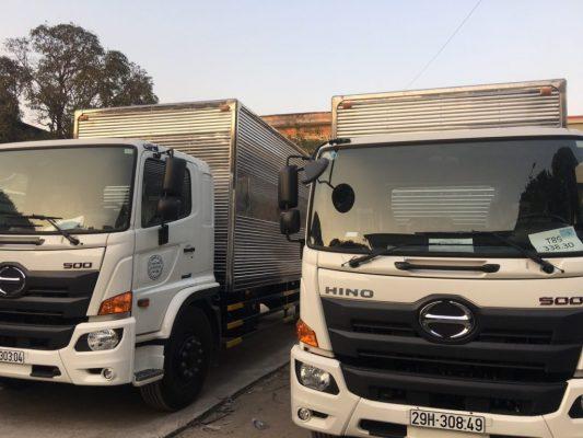 Các loại hình xe tải mà Taxi Tải Nguyên Lợi sở hữu