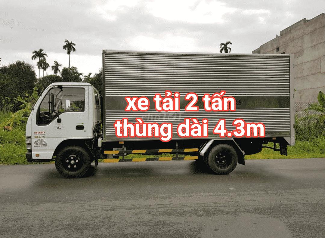 Xe tải 2 tấn chuyển nhà quận Gò Vấp