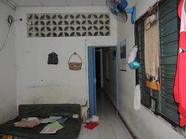 Phòng trong nhà cũ lâu đời