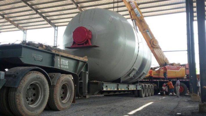 Các loại xe rơ mooc vận chuyển hàng quá tải
