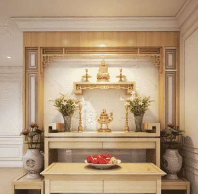 Một số lưu ý khi lập bàn thờ Phật
