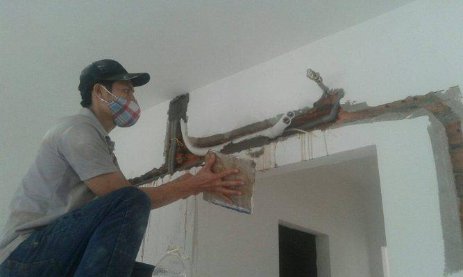 Vì sao cần phải đi ống đồng máy lạnh âm tường