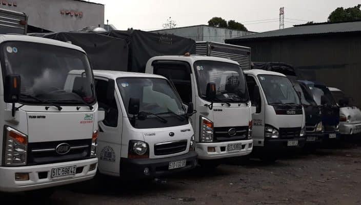 Dịch vụ chuyên cho thuê xe tải uy tín, chất lượng