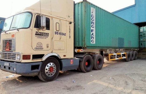 container 40 feet cho duoc bao nhieu tan hang hoa