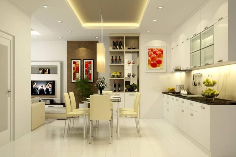 Bếp đóng một vai trò vô cùng quan trọng trong nhà ở nó sẽ quyết đình đến sự an thịnh, nguồn tài lộc