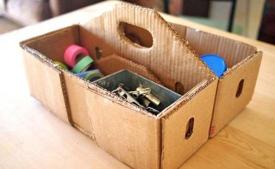 hướng dẫn cách làm đồ handmade từ bìa carton