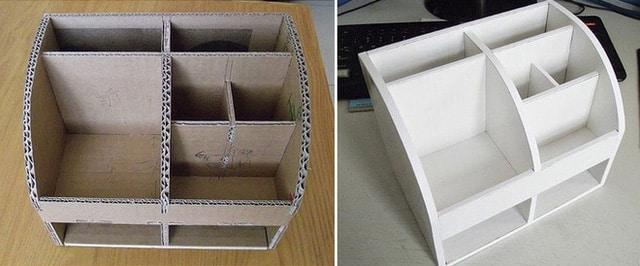 hướng dẫn cách làm đồ handmade từ bìa carton 1