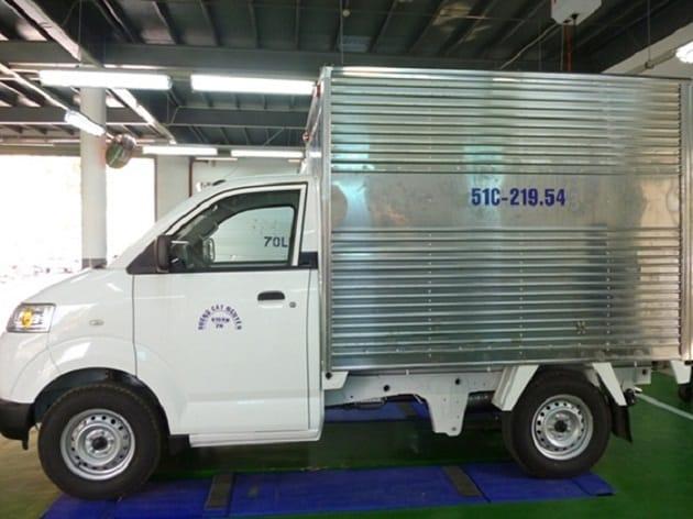 Kích thước cho thuê xe tải 0.5 Tấn