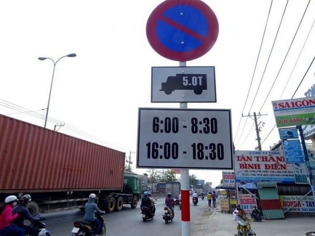 Quy định giờ cấm xe tải TPHCM mới nhất