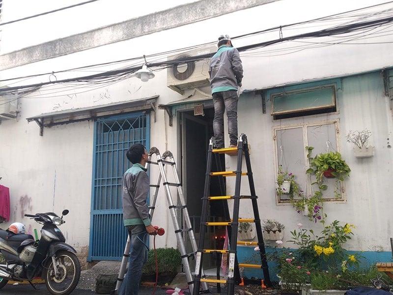 Dịch vụ tháo lắp di dời máy lạnh giá rẻ quận Bình Tân – Taxi Tải 24H