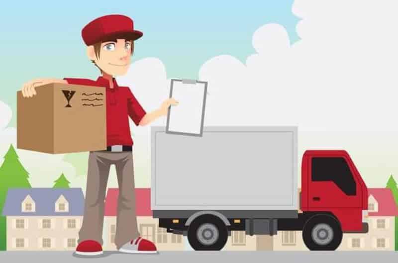 Vận chuyển hàng hóa bưu điện