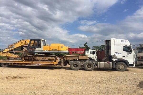 Dịch vụ vận chuyển máy công trình giá rẻ - uy tín - chất lượng
