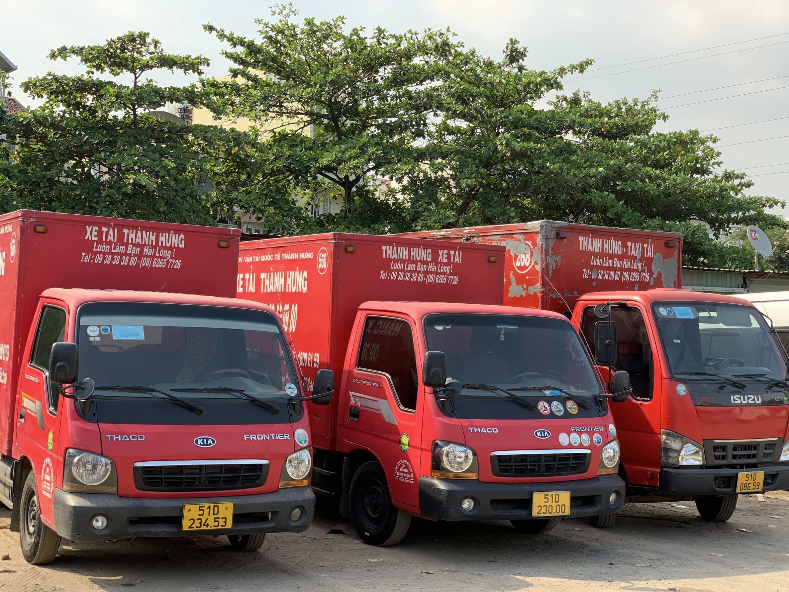 Taxi Tải Thành Hưng cung cấp dịch vụ chuyển kho xưởng uy tín