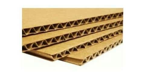 Thùng carton giấy 3 lớp có cấu tạo bao gồm 3 lớp: