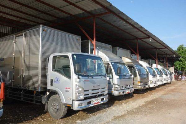 Xe tải đa kích thước, trọng tải