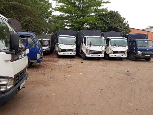 hệ thống xe tải đa kích thước, trọng tải