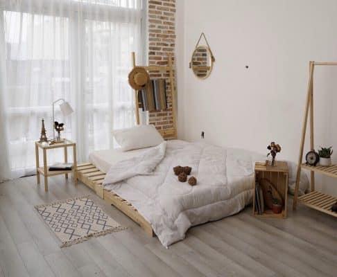 mẫu thiết kế trang trí phòng trọ kiểu hàn quốc