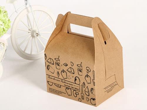 mẫu túi giấy thực phẩm - mua túi giấy kraft ở đâu