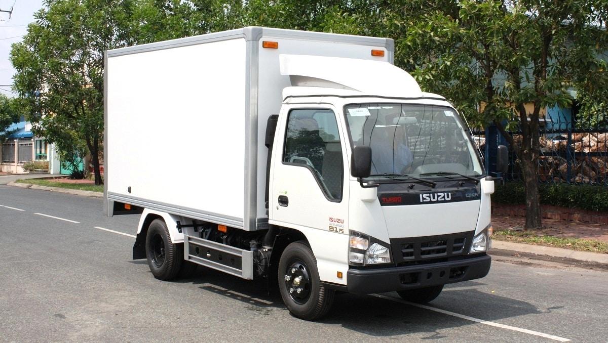 Kích thước xe tải 1 tấn Isuzu