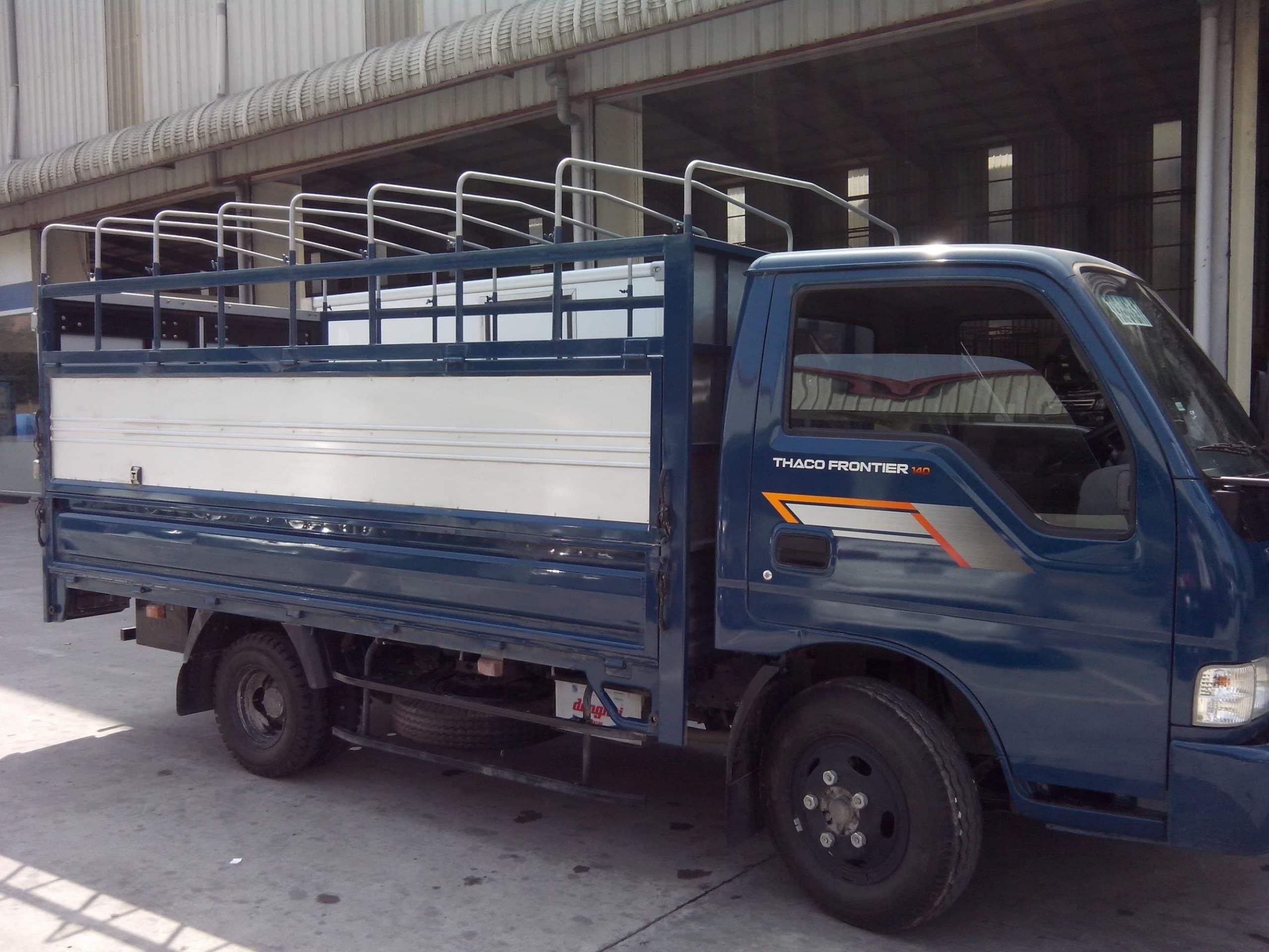 Xe tải dưới 2 tấn thiết kế nhỏ gọn, động cơ mạnh mẽ