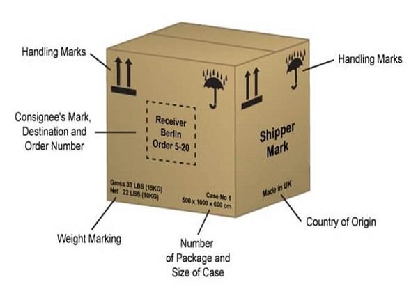 shipping marks là gì?