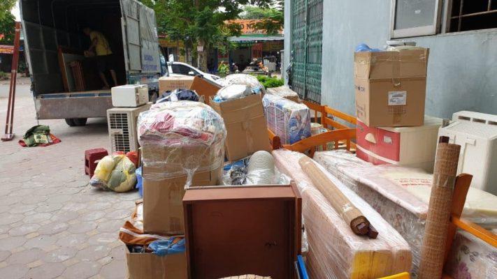 đồ đạc của khách hàng sẽ được đóng gói cẩn thận