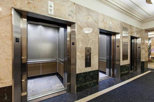 chiều cao cửa thang máy chung cư