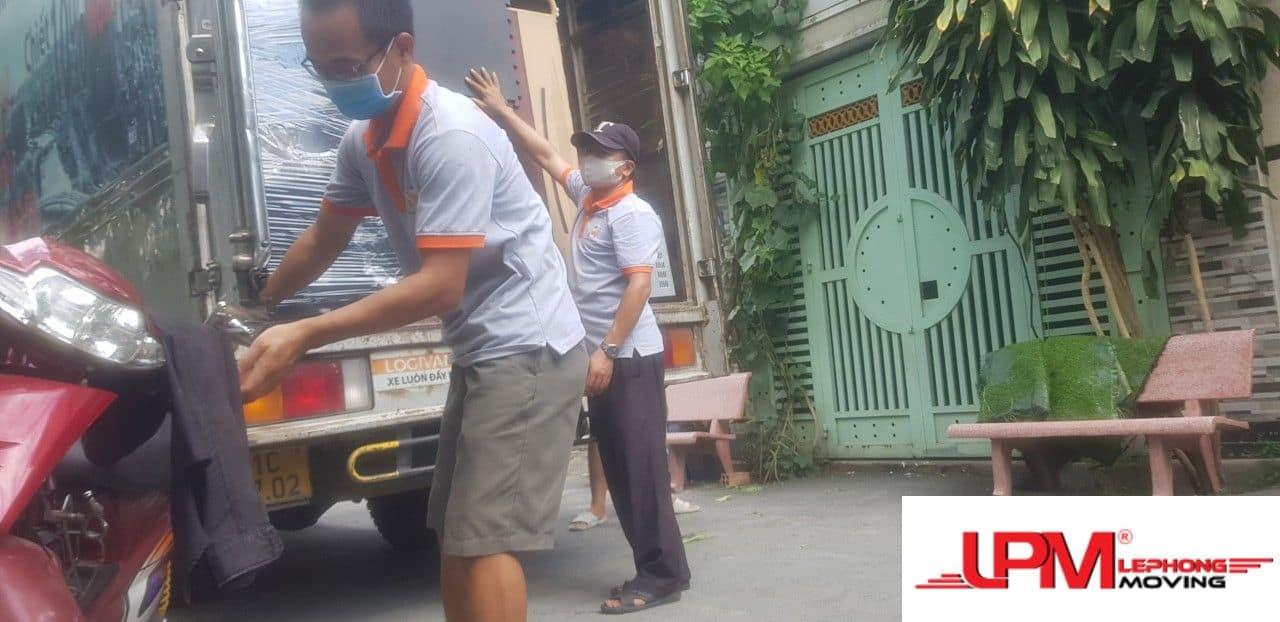 Dịch vụ chuyển nhà trọn gói giá rẻ lê phong