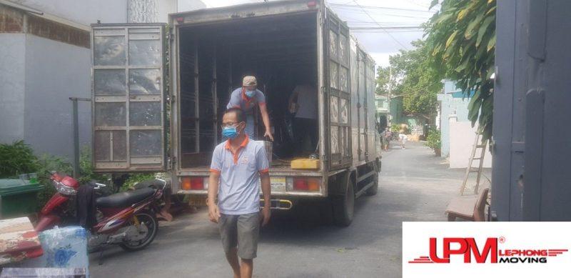 Dịch vụ xe tải chở hàng giá rẻ Lê Phong