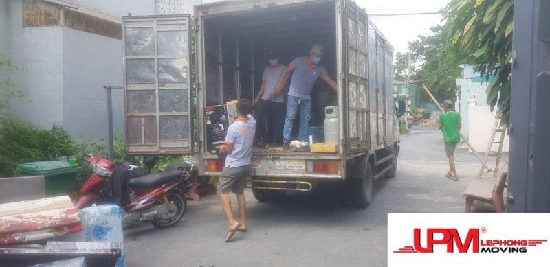 Dịch vụ chuyển văn phòng trọn gói Lê Phong